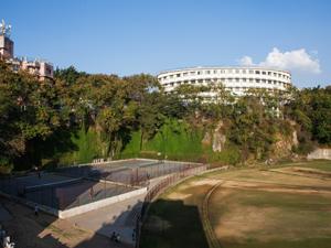 Tennis Court & Ground Area